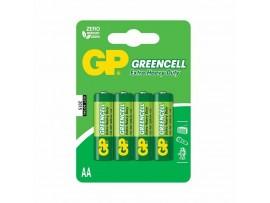 Baterija cink kloridna AA  GP 4 kom GreenCell