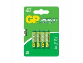 Baterija cink kloridna AAA 4kom GP GreenCell