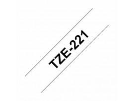 BROTHER trak PT TZE221 bel/črn  9mm