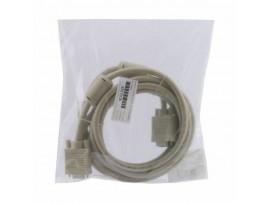 Kabel 1:1 SVGA 15 m-m  3m 14 kontaktov siv Digitus