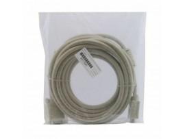 Kabel 1:1 SVGA 15 m-m  5m 14 kontaktov siv Digitus