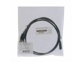 Kabel USB A-B mikro  1m Digitus dvojno oklopljen črn