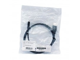 Kabel USB A-B mini  1m Digitus dvojno oklopljen črn