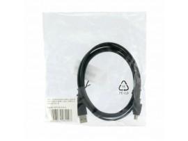 Kabel USB A-B mini 1,8m Digitus dvojno oklopljen črn