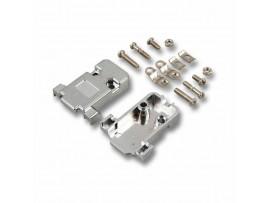 Ohišje za konektor DB09 in DB15 VGA sivo EFB