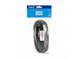 Podaljšek kabelski  3x220V  1,5m Bachman črn