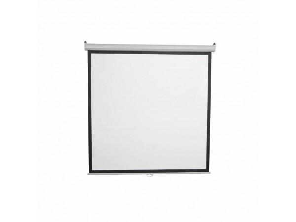 Projekcijsko platno 200x200 cm PSA-112 avtomatsko SBOX