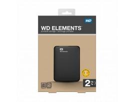Zunanji disk 2TB  WD Elements 6cm črn USB 3.0 WDBU6Y0020BBK-EESN