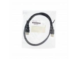 Podaljšek USB A-A  1m EFB črn dvojno oklopljen