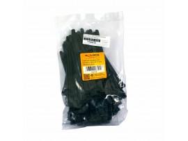 Vezice 150 x 7,5mm črne za večkratno uporabo (pak/100) Delock