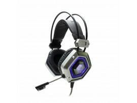 Slušalke + mikrofon WHITE SHARK GH-1841 LION srebrno/črne