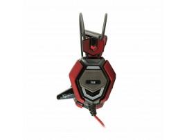 Slušalke + mikrofon WHITE SHARK GH-1644 TIGER črno/rdeče