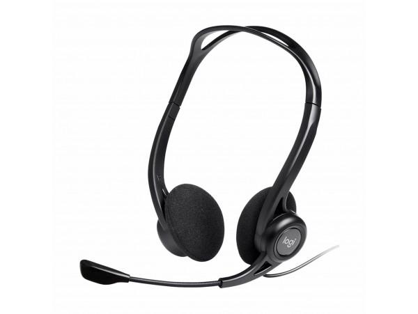 Slušalke + mikrofon Logitech PC 960 USB OEM