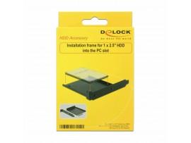 Nosilec za SSD/HDD 1x disk- 6cm PC Slot Delock