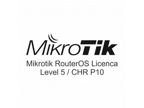 Licenca za Mikrotik opremo Level 5 SWL5/CHR P10-Perpetual