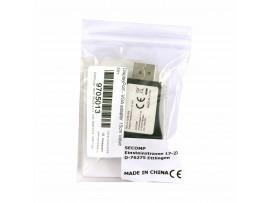 DisplayPort - VGA adapter Value črn