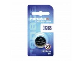 Baterija gumb litijeva CR2025 Renata