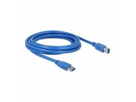 Kabel USB 3.0 A-B 3m moder Delock
