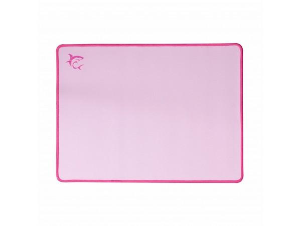 Podloga za miško tekstil WHITE SHARK MP-2100 LOTUS roza
