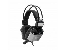 Slušalke + mikrofon WHITE SHARK GH-1946 JAGUAR-7.1 črne