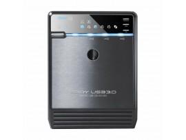 Ohišje 9cm USB 3.0 eSATA SATA QB-35US3-6G 4xSATA JBOD Fantec