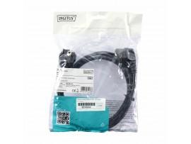 Napajalni kabel 220V EURO   2m -kotni črn Digitus